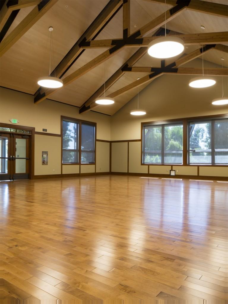 Interior empty